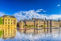 Reise-Konzepte Binnenhof-Palast des Parlaments in Den Haag stockbilder