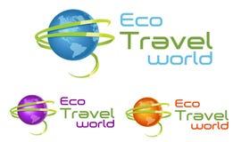Reise-Logo stock abbildung
