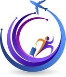 Reise-Logo Stockfoto