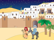 Reise nach Bethlehem Stockfoto
