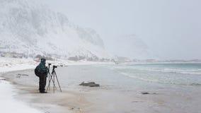 Reise nach Lofotens Stockfotografie