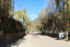 Reise nach Marokko Szenisch, Natur, ruhig lizenzfreie stockbilder
