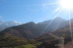 Reise nach Marokko Szenisch, Natur, ruhig lizenzfreie stockfotos