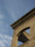 Reise nach Rom oder Griechenland und sehen alte Fenster und Gebäude Lizenzfreies Stockbild