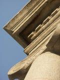 Reise nach Rom oder Griechenland und sehen alte Spalten und Säulen Lizenzfreie Stockfotografie