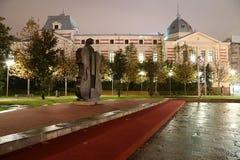 Reise nach Rumänien: Coltea-Krankenhaus im Hochschulquadrat Stockbilder