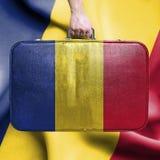 Reise nach Tschad stockfotografie