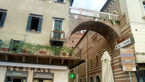 Reise nach Verona Stockbild
