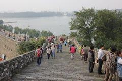 Reise in Nanjing Stockfoto