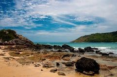 Reise-Naturmeer Thailands Phuket Lizenzfreie Stockfotos