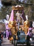 Reise-neuer Orleans--Madic$gras-könig auf Königen Float lizenzfreies stockfoto