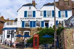 Reise in Rye, Ost-Sussex Stockfotos