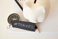 Reise-Sparschwein Lizenzfreie Stockfotos
