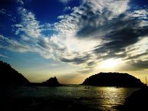 Reise in Thailand Stockbild