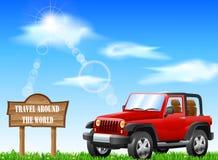 Reise und Tourismus Stockfoto