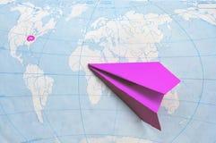 Reise in USA Lizenzfreies Stockfoto