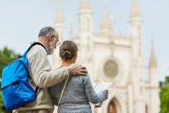 Reise von Senioren stockfotografie