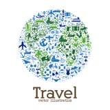 Reise weltweit Stockbild