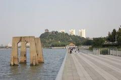 Reise in Zhenjiang Stockfotos