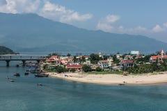 Reise zu Lang Co Beach lizenzfreie stockbilder