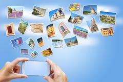 Reise zu Provence-Konzept Frankreich Stockfoto