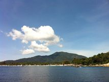Reise zur Insel Lizenzfreies Stockfoto