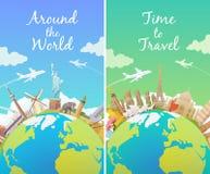 Reise zur Welt Lizenzfreie Stockbilder