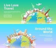 Reise zur Welt Stockbilder
