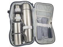 Reiseausrüstungsreisendpfadfinder Lizenzfreies Stockbild