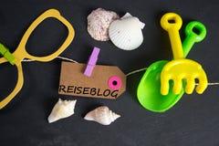 Reiseblog - Deutscher für travelblog stockfotos