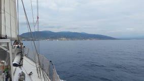 Reiseen-mer sur UNO voilier Français stockfotos