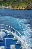Reiseflug in Malta Stockfotografie