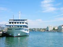 Reiseflugzwischenlage im Sewastopol-Hafen Lizenzfreie Stockbilder