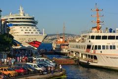 Reiseflugzwischenlage in Istanbul Stockfotos