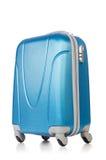Reisekonzept mit Gepäck suitacase Lizenzfreie Stockfotos