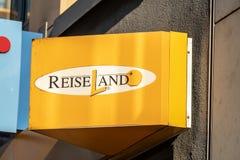 Reiseland agencja podróży zdjęcia stock