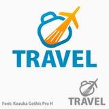 Reiselogo Stockfoto