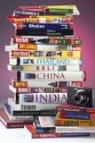 Reisen-Anleitungen - Ostasien Stockfoto