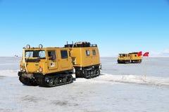 Reisen auf das Treibeis in der Antarktis Lizenzfreies Stockbild