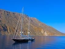Reisen auf Yacht Lizenzfreies Stockbild