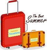Reisen-Beutel und Gepäck Lizenzfreies Stockbild