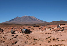 Reisen in Bolivien lizenzfreie stockfotografie