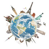 Reisen das Weltdenkmalkonzept Stockfoto