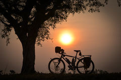 Reisen des Fahrrades Lizenzfreie Stockbilder