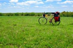 Reisen des Fahrrades Stockfotos