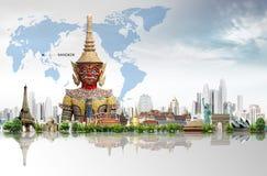 Reisen die Welt Stockfotos