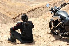Reisen durch die Wüste Stockbilder