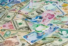 Reisen-Geld Lizenzfreies Stockfoto