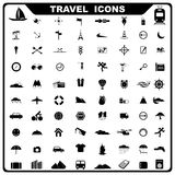 Reisen-Ikone Lizenzfreies Stockbild