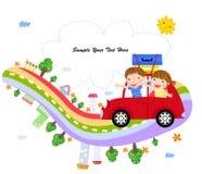Reisen mit dem Auto Stockfoto
